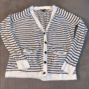 Forever 21 Striped Cardigan